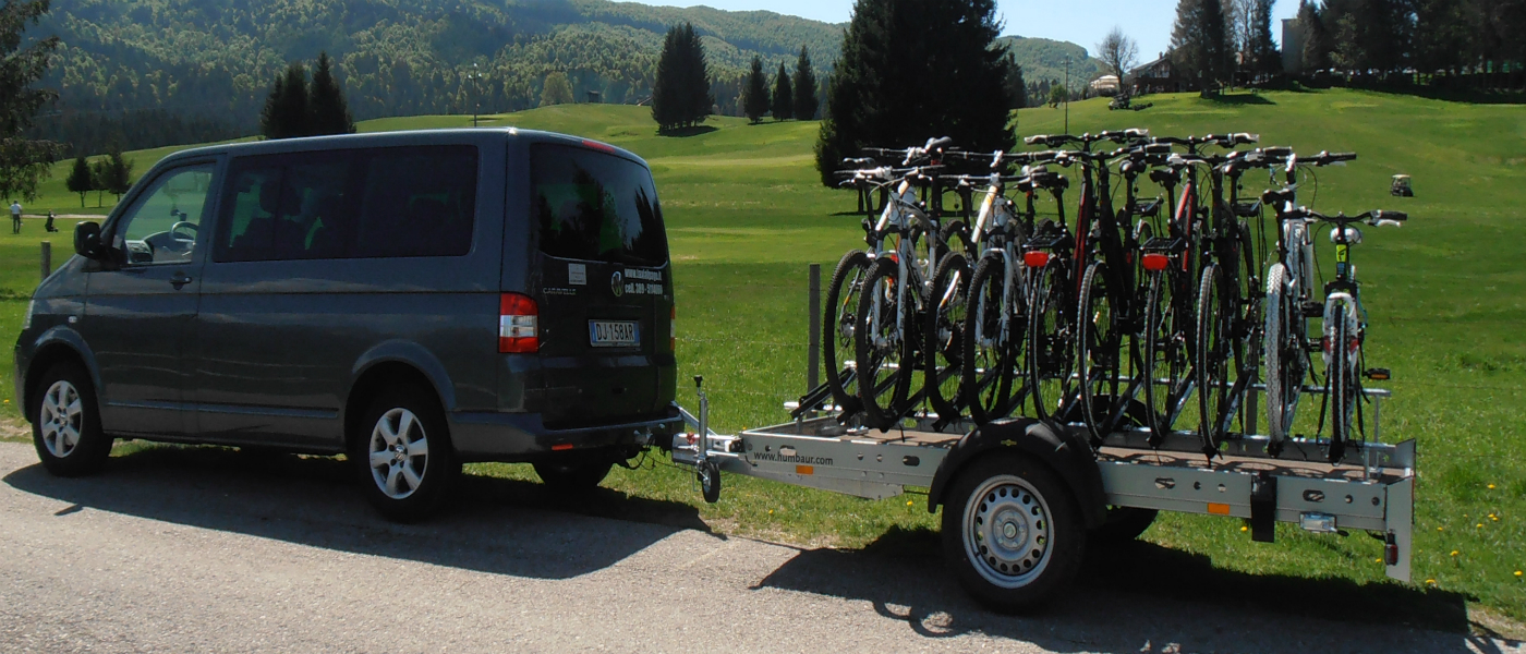 TAXI BIKE SERVICE - BIKE SHUTTLE - BICYCLE TRANSPORT FOR THE PROVINCE OF BELLUNO AND THE DOLOMITES